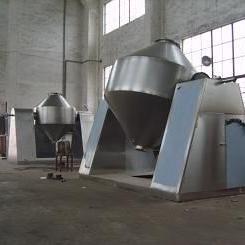 直销色母粒专用高温真空回转烘干机 高温真空干燥机
