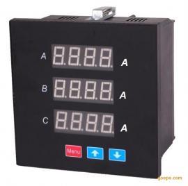 三排显示三相电流表