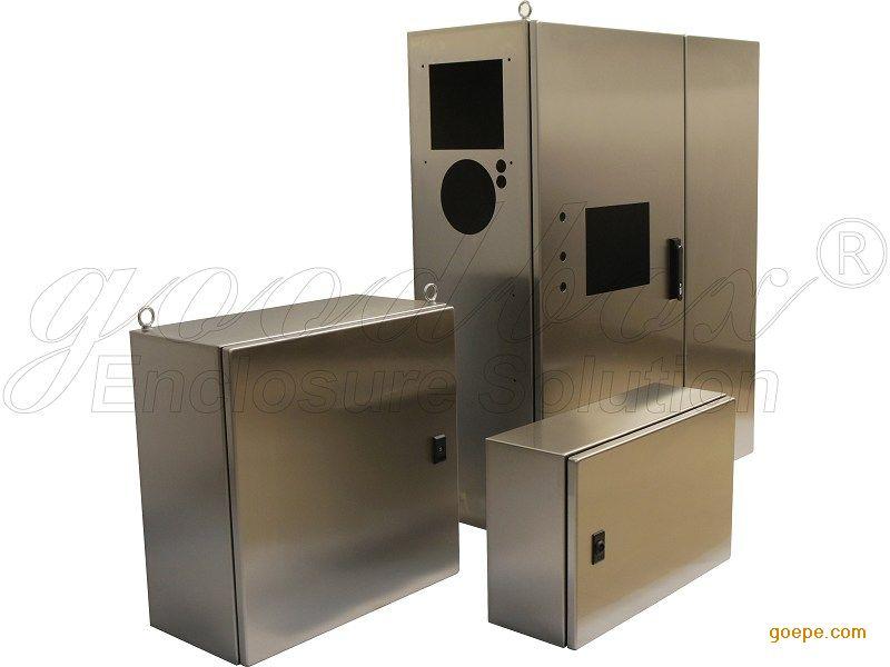 不锈钢机箱|不锈钢机柜|钣金加工|紧装式一体柜图片