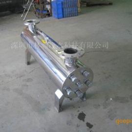 不锈钢紫外线杀菌器50-60吨泳池循环水消毒紫外杀菌设备