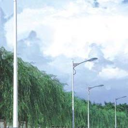 批发直销8米道路灯,9米道路灯,自弯臂路灯
