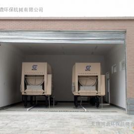 旋转式垃圾压缩贮存设备