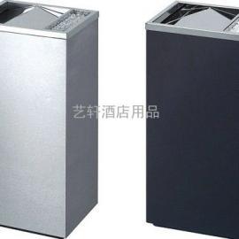盐城楼层不锈钢垃圾桶批发公司―扬州室内烤漆烟灰桶定做价格