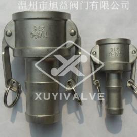 KJT-C型快速接�^|�端皮管快速接�^C型