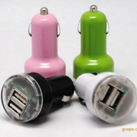 双USB车充,彩色双USB车充,5V2A双USB车充