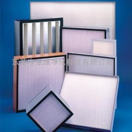 广州佛山珠海中山医院高效过滤器更换,VTF铝框高效过滤器订制