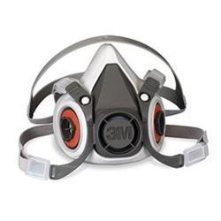 美国3M 6001小号半面型防护面罩