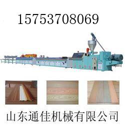 PVC木塑长城板设备