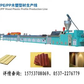 塑木生产线-塑木生产线视频