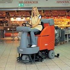 大连原装进口洗地机,哈高驾驶式洗地机