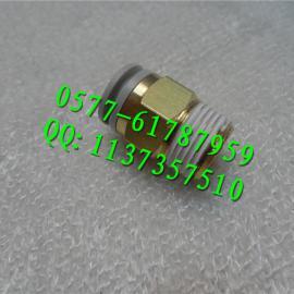 KQ2H8-02S外螺纹直通接头