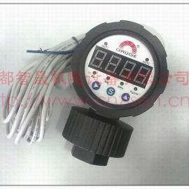 华记LED数字显示隔膜压力表SS-CM19