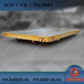 河南电动平板车制造50吨三相低压轨道电动平车