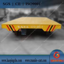 KPDZ低压轨道供电平板车 铅包轨道车