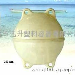 上海浮球加工,PE水上浮球,塑料浮球