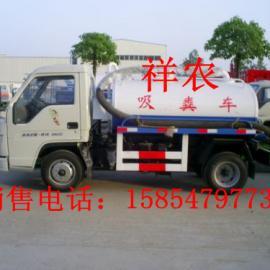 山东日照小型吸污车配件小型三轮抽粪车图片