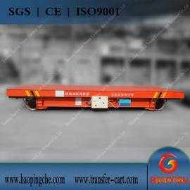 低压轨道平板电动车 小型平板车
