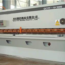 ZYS系列电液伺服数控液压闸式剪板机