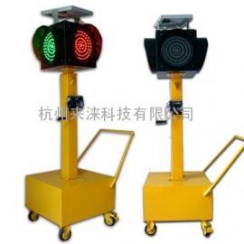 高亮度太阳能移动红绿灯
