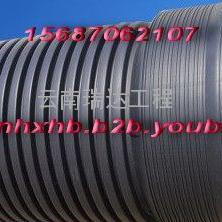 凤庆HDPE双壁波纹管-芒市HDPE给水管-蒙自PE钢带管