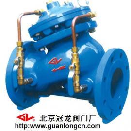 冠龙阀门JD745X-16多功能水泵控制阀