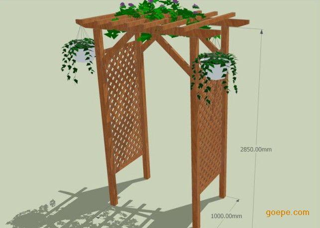 木头花架制作方法大全