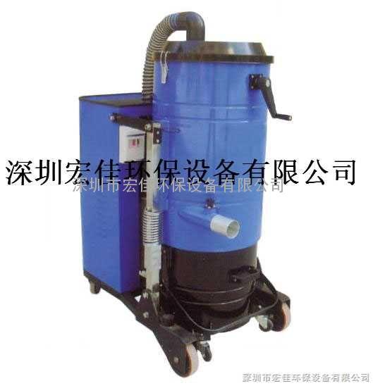 可吸收粉尘、颗粒、少量液体、潮湿等固态物质工业吸尘器