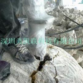 井下岩石静态破碎,人工挖孔桩机械