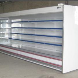 超市分体风幕柜/水果陈列柜/陈列保鲜冰柜供应厂家