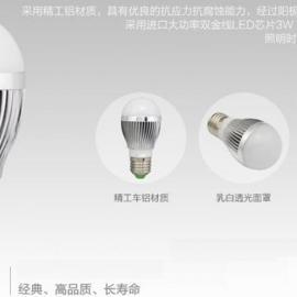 E27球泡灯3W LED厂家 LED球泡灯 LED节能灯 led3W球泡灯 led公司