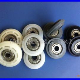 加工定制各类轴承滑轮 包塑滑轮