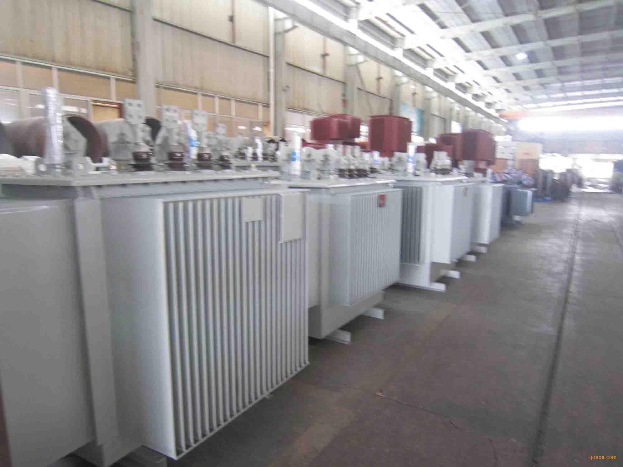 红旗集团油浸式变压器S11 2000kva电力变压器图片 高清大图 谷瀑环保
