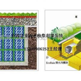 惠州雨水渗透滞蓄带pp模块组合