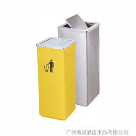 A-185方形翻盖垃圾桶|方形不锈钢垃圾桶|烟灰桶