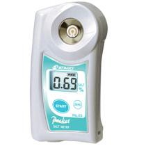 数字手持袖珍盐度计(电导法) PAL-ES2