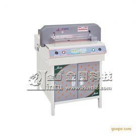 金图JT-480VS电动切纸机 数控切纸机