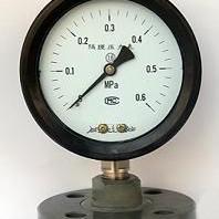 隔膜式真空压力表