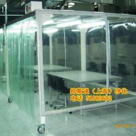 上海防静电透明网格帘,pvc防静电透明网格帘