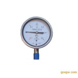 YZ-100B不锈钢真空压力表