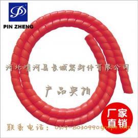 优质螺旋护套 高压油管保护套 胶管护簧