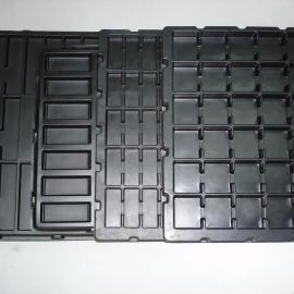 PS塑料托盘,黑色防静电吸塑托盘