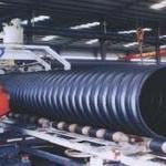 DN500承插式钢带增强螺旋波纹管