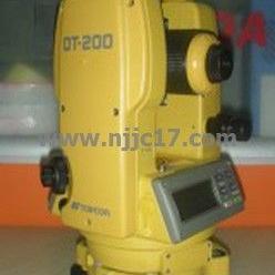 拓普康电子经纬仪DT202/日本原装电子经纬仪