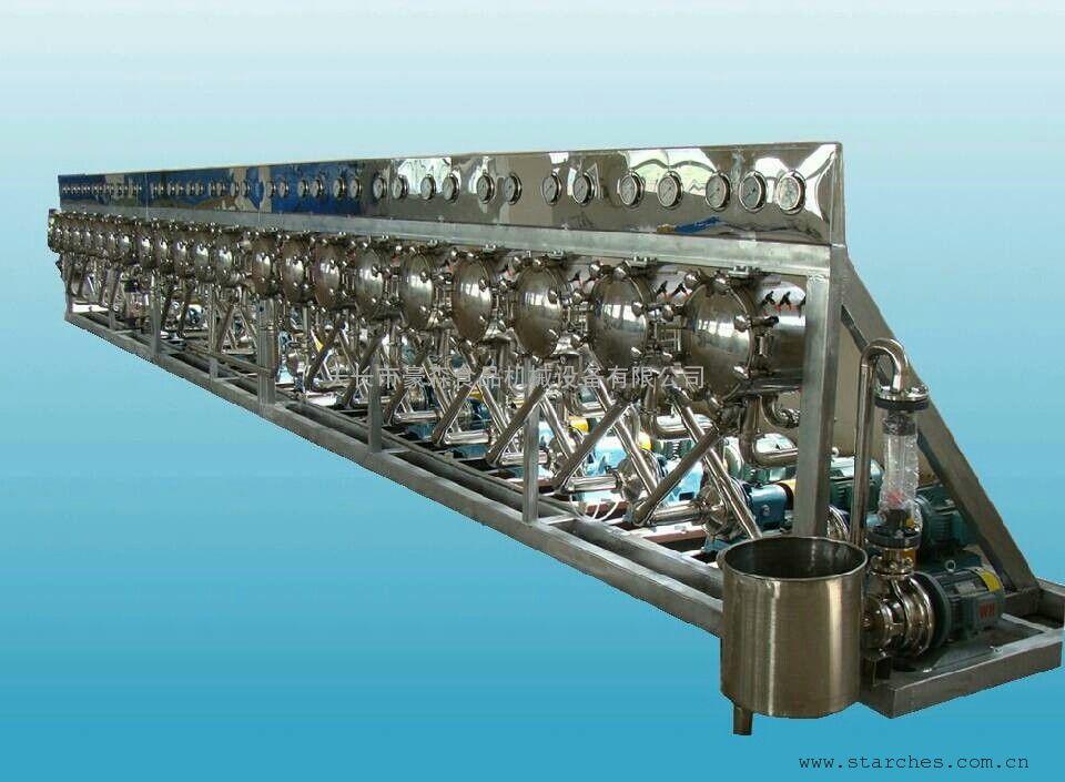 谷瀑环保设备网 粮食加工设备 淀粉机 天长市豪森食品机械设备有限
