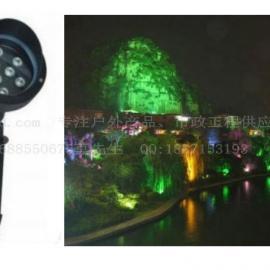 供应9W12W15W草坪灯/LED花坛草坪景观照明插地射灯