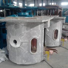 1T铝壳中频电炉