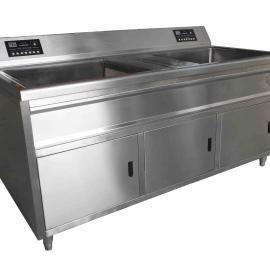 节度洗菜机B系列:双槽
