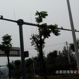 自贡卡口杆 自贡电子警察立杆 富顺电子警察立杆制造