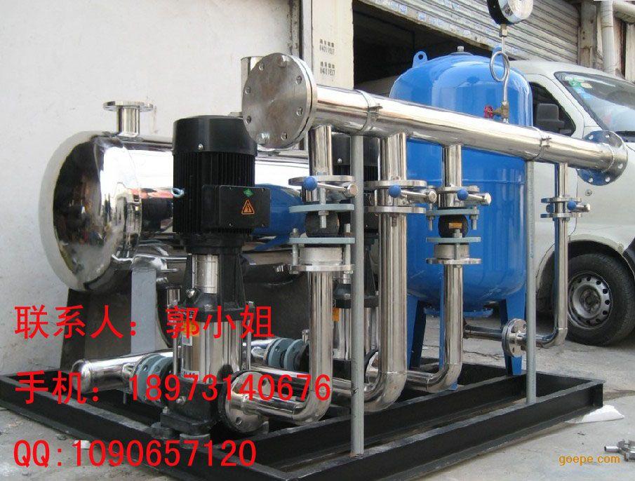 (6)系统中设置了膈膜气压罐图片