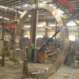 一机供应1.8x12米最优质滚筒烘干机滚圈